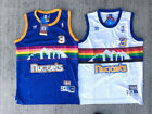 Hardwood Classics ALLEN IVERSON 3 Throwback Jersey Denver Nuggets Men's Blue NWT