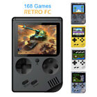 """Retro Mini Handheld Video Game Console 3.0"""" Fc Built-in 168 Classic Games Gift"""