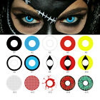 Halloween Color Contacts Lenses Party Cosmetic Cosplay Vampire Colored Lens Grac