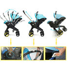 3 in 1 Stroller Newborn Baby Car Safety Seat Stroller With Accesories Portable