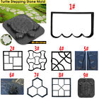 Paving DIY Pavement Concrete Stepping Driveway Stone Path Mold Patio Maker Mould image