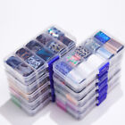 10 Rolls/Box Holo Nail Foils Starry Sky Nail Stickers Mixed Pattern Nail Decals