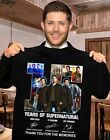 15 YEARS OF SUPERNATURAL-THANK YOU FOR THE MEMORIES SHIRT