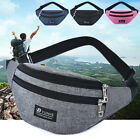 Unisex  Bum Bag  Pack Pouch Travel Waist Belt Leather Holiday Money Wallet