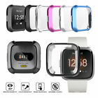 For Fitbit Versa Lite Smart Band TPU Silicone Cover Watch Casing Guard Protector