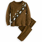 Disney Store Star Wars Chewbacca Costume 2PC Long Sleeve Pajama Set Boy Size 7 8 $29.99 USD on eBay