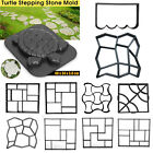 Garden DIY Pathway Maker Model Concrete Stepping Stone Cement Mould Brick Maker image