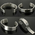 Metal Bracelet Wrist Watch Band Stainless Steel Strap Straight New 18/20/22mm image