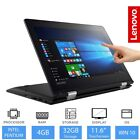 "Lenovo Yoga 310 11.6"" Convertible Laptop/Tablet Intel Pentium, 4GB RAM 32GB eMMC"