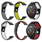 Silicone Replacement Strap Band for Huawei Magic/Watch GT/Ticwatch Pro Code