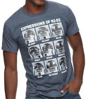 Star Wars R2-D2 Expressions Navy Heather Men's T-Shirt New $12.87 USD on eBay