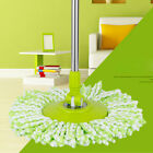 360 Rotating Replacement Head Easy Magic Microfiber Spinning Cleaning Floor Mop
