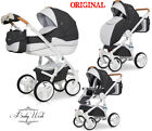 RIKO BRANO LUXE PRAM 3in1 CARRYCOT+PUSHCHAIR+CAR SEAT,FREE EXTRAS! UK RETURN  <br/> FREE!!! Rain cover+Large bag+Hands warmer+Mosquito net