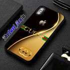 Best Case GUCCI78 Apple Gold Luxury Cover iPhone 6,7,8,XS Max Samsung Note S10