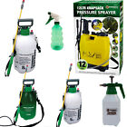 GARDEN  & Fence SPRAYER  KNAPSACK PRESSURE SPRAY BOTTLE 1.5,5,8,12 Litre 5L