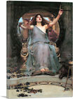 Circe Offering the Cup to Odysseus 1891 Canvas Art Print John William Waterhouse