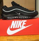 Nike Air Max 97 triple all Black With White strip Brand New SIZES FROM UK 6 - 11