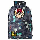 WWE John Cena Casual Laptop Backpack Cosplay Wrestling Schoolbag Camouflage NEW