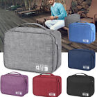 Travel Storage Bag USB Charger Data Cable Wire Electronics Organizer Waterproof