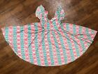 NWT Dot Dot Smile Twirly Summer dress Girls Empire Geometric Colorful Girls
