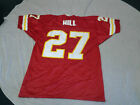 GREG HILL #27 RETRO KANSAS CITY CHIEFS WILSON NFL JERSEY SIZE LARGE FREE SHIP on eBay