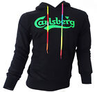 Sweatshirt Jersey Carlsberg Men Hooded Hood 100% Cotton Made in Italy CBU2540