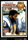 1979 Topps #152 Fred Dean Chargers EX/MT $2.4 USD on eBay