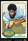 1976 Topps #38 Russ Washington Chargers VG $1.15 USD on eBay