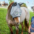 NEW - DEFENDER EQUINE HORSE FLY MASK WITH EARS FUNNY FACE PARADISE SUNGLASSES