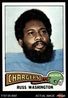 1975 Topps #335 Russ Washington Chargers EX $0.99 USD on eBay
