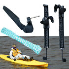 Kayak Inflatable Boat Right Left Foot Tread Pedal Peg + Rudder Replacement Set A