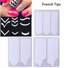 French Nail Tips Tape Guide Stencil 3 Style Form Sticker Nail Design Stencil