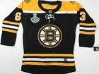 NWT Brad Marchand 63 Boston Bruins 2019 NHL FINALS Authentic Jersey Black