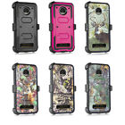 For Motorola Z4 Play/ Protective Combo Holster Case/ Full Screen Coverage