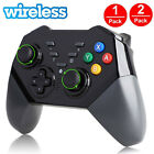 2-Pack Wireless Pro Controller Gamepad Joypad Remote for Nintendo Switch Console