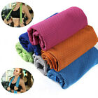 Sports Jogging Enduring Running Instant Ice Cold Chilly Pad Cooling Towel Code image