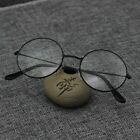 Fashion Round Retro Metal Frame Clear Lens Eye Glasses Large Oversized Circle US