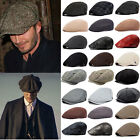 Mens Ivy Hat Newsboy Gatsby Cap Golf Driving Flat Cabbie Beret Casual Baker Hat