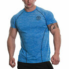 Golds Gym Mens Performance Raglan Muscle Fit Soft Tee Quality T-Shirt