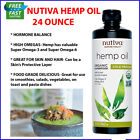 Organic Hemp Seed Oil Drops 24 oz Pain Relief Anti-Inflammatory Joint Support $10.48 USD on eBay