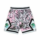 PINK DOLPHIN PARADISE HEAVY SHORTS MESH BASKETBALL BOTTOMS ATHLETIC FIT PINK