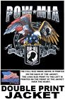 POW MIA HEROS THANK ALL VETERANS AMERICAN EAGLE PRIDE FLAG PATRIOTIC JACKET W537