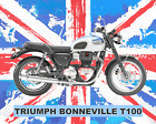 TRIUMPH BONNEVILLE MOTORCYCLE MOTORBIKE METAL SIGN TIN PLAQUE OTHERS LISTED 1247 €8.03 EUR on eBay