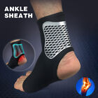 Compression Sport Socks Heel Foot Ankle Pain Relief Support Health Socks Black $2.99 USD on eBay