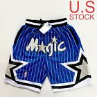 Orlando Magic Basketball Shorts Vintage 92-93 Mens Blue Sizes S-2XL on eBay