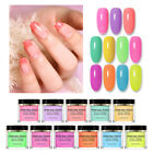BORN PRETTY 10ml Fluorescence Dipping Nail Powder Natural Dry Nail Pigment Dust