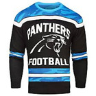 NFL Carolina Panthers Football Men Sweater Small Glow in the Dark Ugly Christmas $27.99 USD on eBay