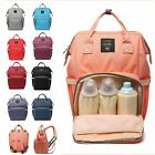 Luxury Multifunctional Baby Diaper Backpack Nappy Waterproof Mummy Changing Bag