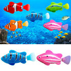 Electric Swim Fish Activated Battery Powered Robotic Pet Fish Kids Toy Code