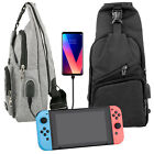 For Nintendo Switch Console Joy-Cons Travel Backpack Crossbody Travel Case Bag